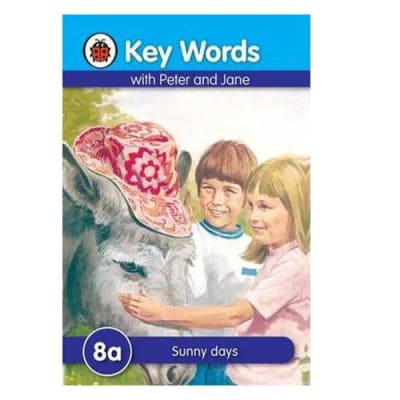 Key Words with Peter and Jane  8a Sunny Days  image
