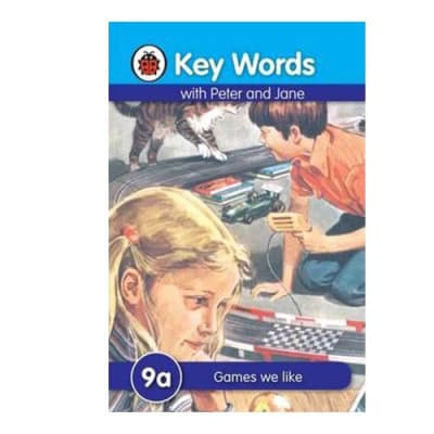 Key Words with Peter and Jane 9a  Games We like  image