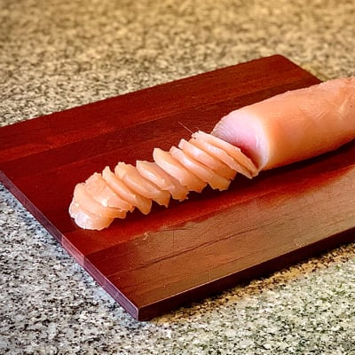 Smoked Crocodile Fillet image