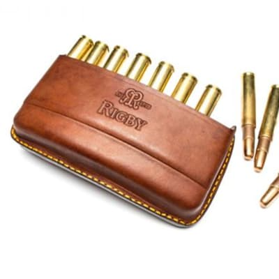 John Rigby & Co Magnum Quick Load Leather Bullet Pouch image