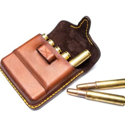 John Rigby & Co African Leather Bullet Pouch image