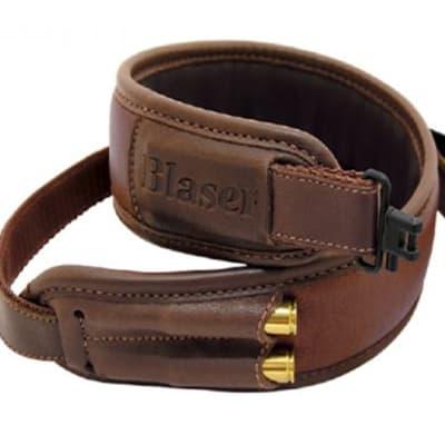 Blaser Rifle Sling Leather Brown image
