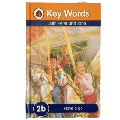 Key Words - With Peter And Jane – 2b Have A Go image