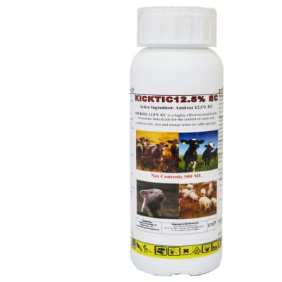 Ticks, Mites & Lice Killer Kicktic 12.5 Ec  - 1 Litre image