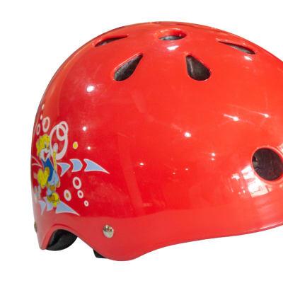 Helmet Kids Skating Cat  for Cycling & Skating Red  image