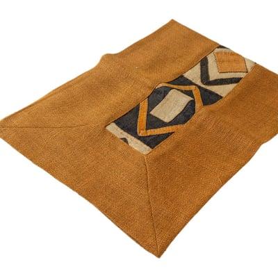 Traditional Kuba Fabric Table Runner 1m  image