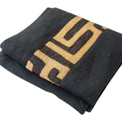 Kuba Cloth Traditional Fabric Table Runner 2m  image