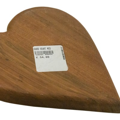 Chopping Blocks - Medium Wooden Heart-shaped Chopping Board image