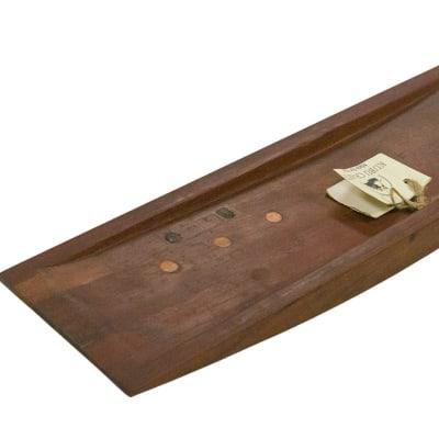 Serving Trays - Wooden Boat Fruit Platter image