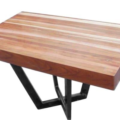 Crossed Steel Legs coffee table image