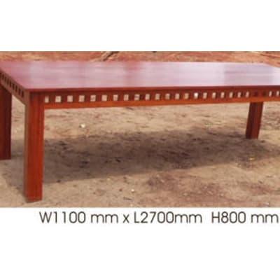 Teak Wood  Dining Room Table  8 Seater  image