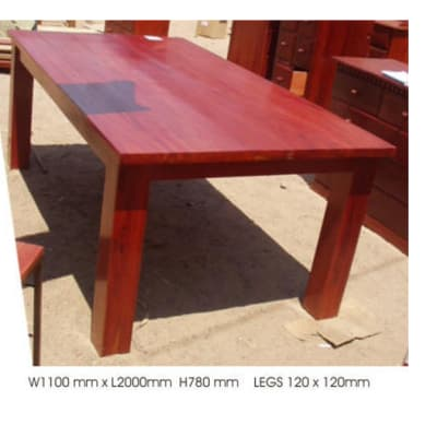 Dining table 8-seater solid image