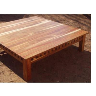 Low large Ikea mukwa coffee table image