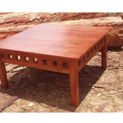 Low square Ikea coffee table image