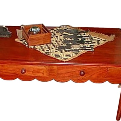 Scalloped coffee table image