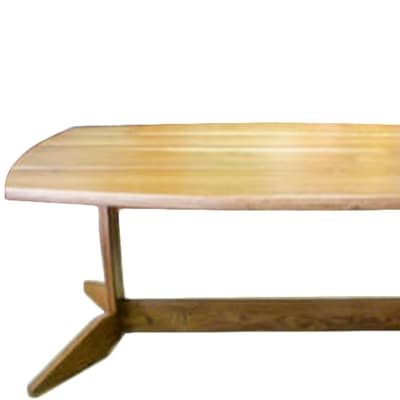 Semi-Oval Dining table image