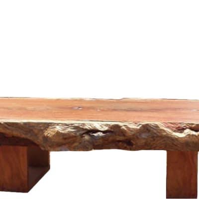 Six Inch log slab coffee table image