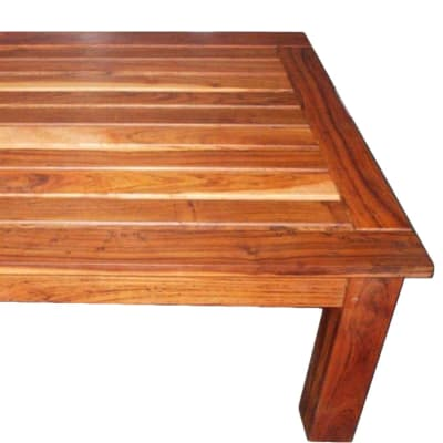Slatted Top coffee table image