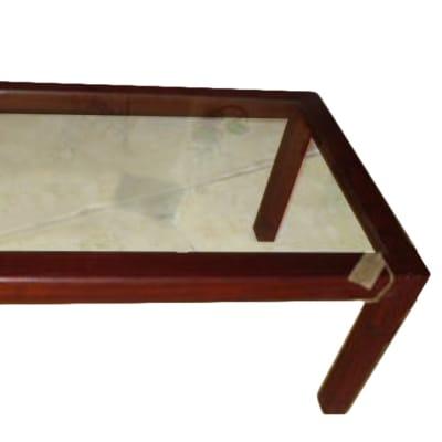 Smallish glass-top Coffee table image