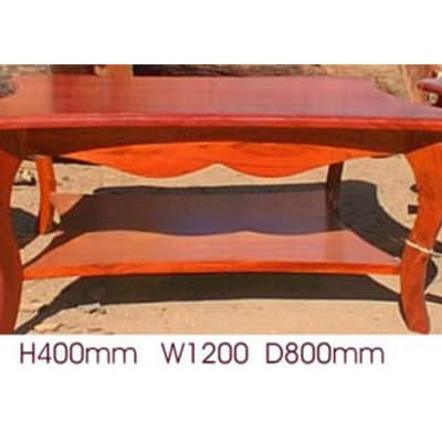 Curved legs Coffee table image
