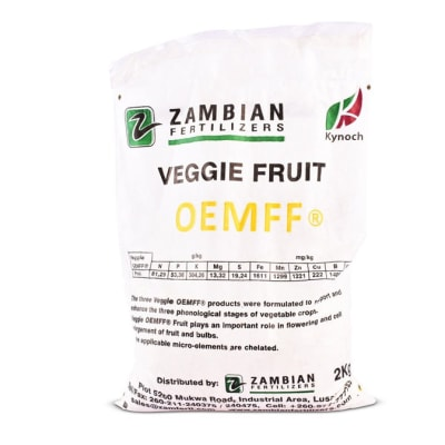 Soluble Products Veggie Oemff Fruit  Fertilizer - 2kg   image