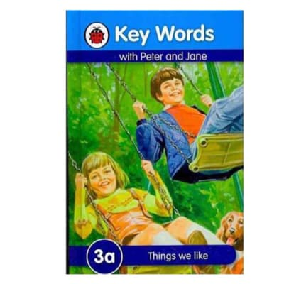 Key Words with Peter and Jane  3a Things We like image