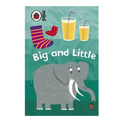 Ladybird Mini  Big and Little  Early Learning Activity Book image