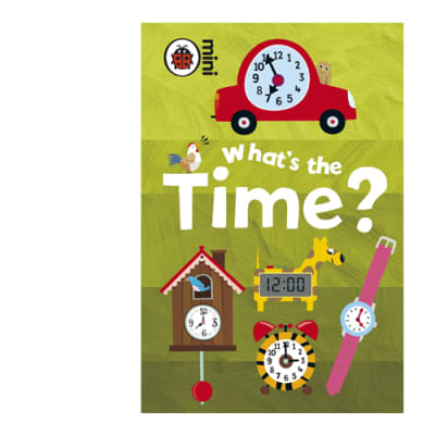 Ladybird Mini  What's the Time  Early Learning Activity Book image