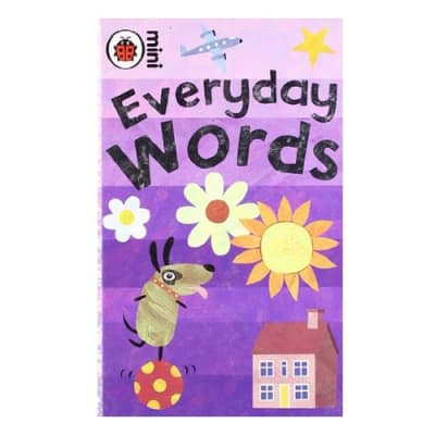 Ladybird Mini Everyday Words Early Learning Activity Book image