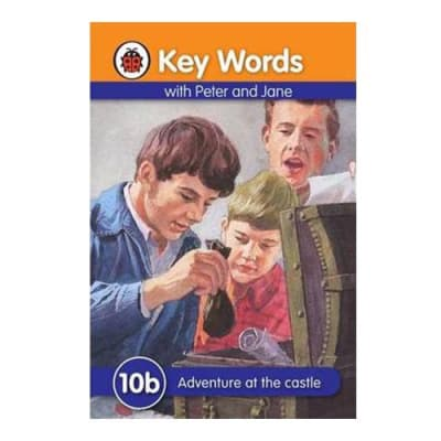Key Words with Peter and Jane 10b Adventure at the Castle  image