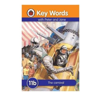 Key Words with Peter and Jane  11b the Carnival  image