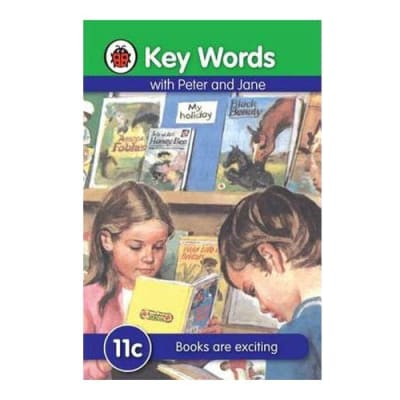 Key Words with Peter and Jane  11c Books Are Exciting  image
