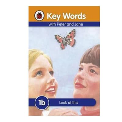 Key Words with Peter and Jane  1b  Look at This  image