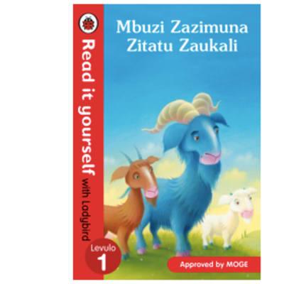 Ladybird Tales:  Mbuzi Zazimuna Zitatu Zaukali  Read It Yourself with Ladybird Level Levulo 1  image