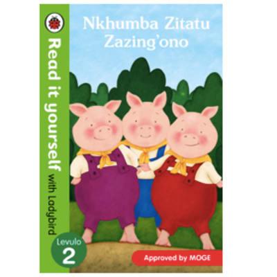 Ladybird Tales: Nkhumba Zitatu Zazing'ono Read It Yourself with Ladybird Levulo 2  image