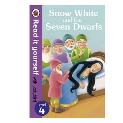 Ladybird Tales:  Snow White and the Seven Dwarfs Read It Yourself with Ladybird Level 4 image