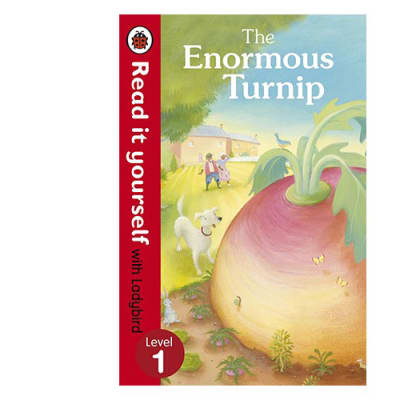Ladybird Tales:  The Enormous Turnip Read It Yourself with Ladybird Level 1 image
