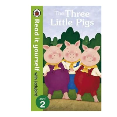 Ladybird Tales:  The Three Little Pigs  Read It Yourself with Ladybird Level 2 image