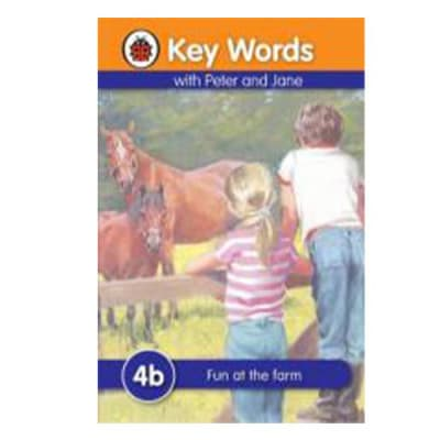 Key Words with Peter and Jane 4b Fun at the Farm image