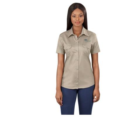 Ladies Short Sleeve Wildstone Shirt image