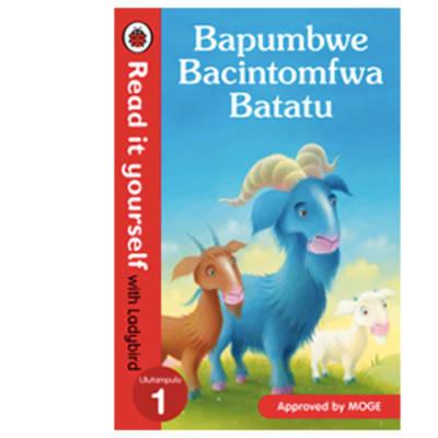 Ladybird Tales:  Bapumbwe Bacintomfwa Batatu  Read It Yourself with Ladybird Level 1 image