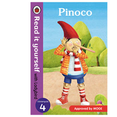 Ladybird Tales:  Pinoco  Read It Yourself with Ladybird Level 4 image