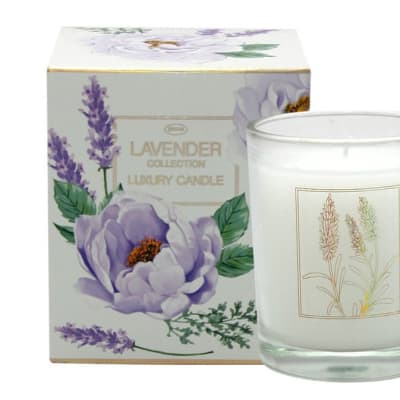 Lavender Flower's by Jenam Luxury Candle image