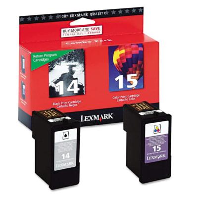 Lexmark 18c2239  Toner Cartridge    #14 & #15  (18c2090 & 18c2110) image