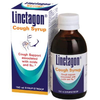 Linctagon  Cough Syrup for Colds & Flu 150ml image