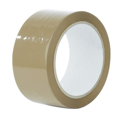 Low Noise Brown Polypropylene Tape image