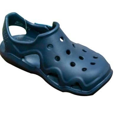 Little Kids Crocs Classic Clogs - Grey image