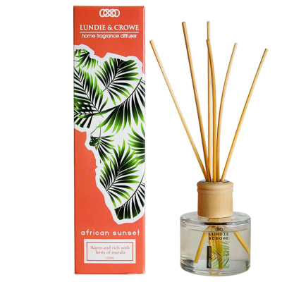 Lundie & Crowe Home Fragrance Diffuser African Sunset - 120ml image