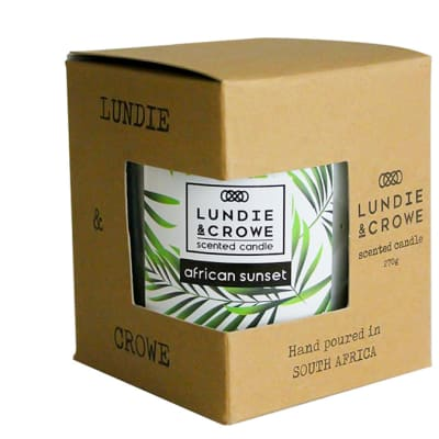 Lundie & Crowe Scented Candle - African Sunset image