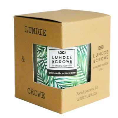 Lundie & Crowe Scented Candle - African Thunderstorm image